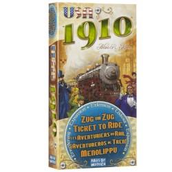 Aventuriers du rail - extension 1910