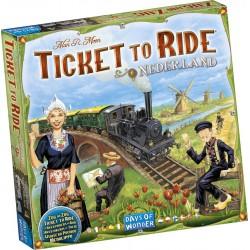 Les aventuriers du rail - Pays Bas un jeu Days of wonder