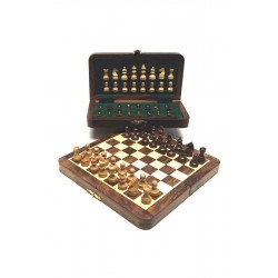 Coffret échecs 200x100 - Palissandre magnétique