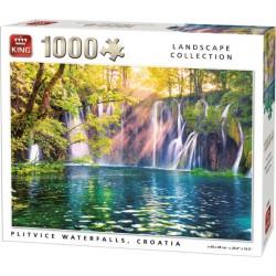 Puzzle 1000 pièces - Plitvice Waterfalls Croatie