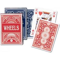 Jeu de 54 cartes Poker Wheels