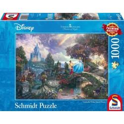 Puzzle 1000 pièces - Kinkade - Cendrillon