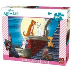 Puzzle 200XL Aristochats - King