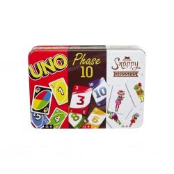 Coffret 3 jeux Uno Phase 10 Snappy dressers