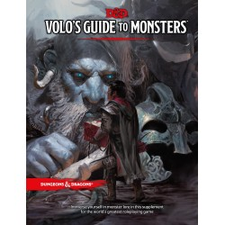 Volo's Guide to monsters VO