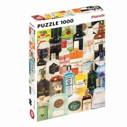 Puzzle 1000 pièces - Gin