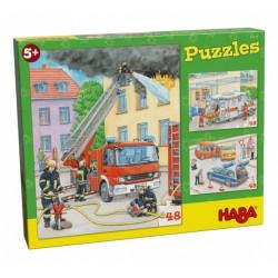 Puzzle 48 pièces - 3 véhicules