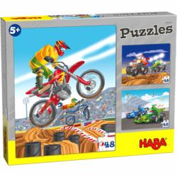 Puzzle 48 pièces - Sports mécaniques