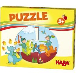 Puzzle 2 pièces - Chevaliers