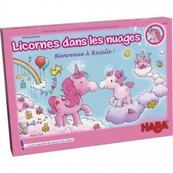 Licorne dans les nuages - Bienvenue à Rosalie