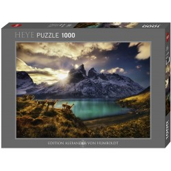 Puzzle 1000 pièces Guanacos