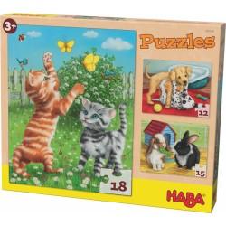 Puzzle - Animaux de compagnie