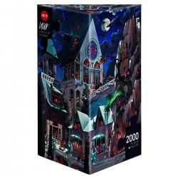 Puzzle 2000 pièces - Château Hanté