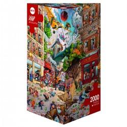 Puzzle 2000 pièces - Apocalypse - Loup