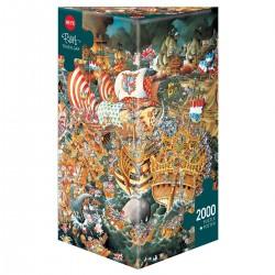 Puzzle 2000 pièces - Trafalgar