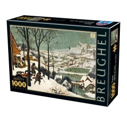 Puzzle 1000 pièces - Breughel - The elder the snow