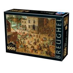 Puzzle 1000 pièces Breughel - Children's Game
