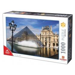 Puzzle 1000 pièces - Le Louvre