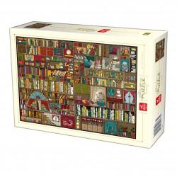 Puzzle 1000 pièces - Pattern-bookshelf