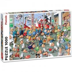 Puzzle 1000 pièces - Accidents aux urgences