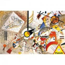 Puzzle 1000 pièces Kandinsky - Bustling Aquarelle