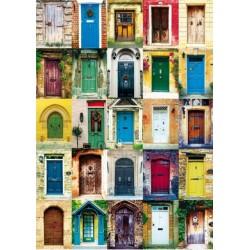 Puzzle 1000 pièces - Les portes