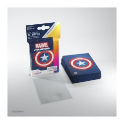 Sleeves Marvel Champions - Captain America