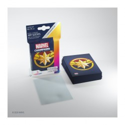 Sleeves Marvel Champions - Captain Marvel