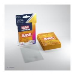 Sleeves Marvel Champions - Orange