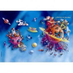 Puzzle 540 pièces - Planeta