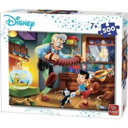 Puzzle 500 pièces - Pinocchio