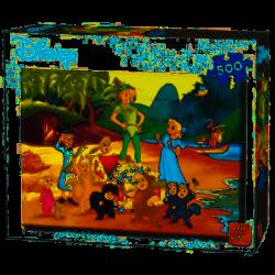 Puzzle 500 pièces - Peter Pan