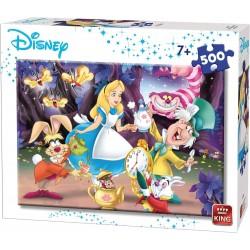 Puzzle 500 pièces - Alice au pays des merveilles