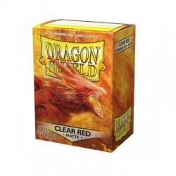 Dragon Shield Clear Red Matte 100