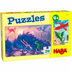Puzzle 24 pièces - Dragons