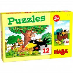 Puzzle 12 pièces - Le verger