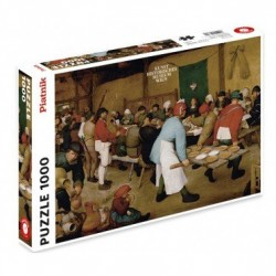 Puzzle 1000 pièces - Repas de Noces Bruegel