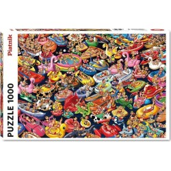 Puzzle 1000 pièces - Détente sur l'eau - Ruyer