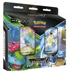 Pokémon : Deck Combat-V Florizarre vs Tortank