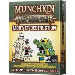 Munchkin - Warhammer Age of Sigmar - Mort et destruction (En précommande)