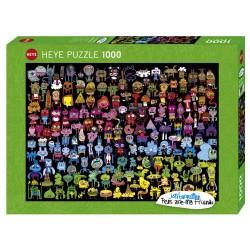 Puzzle 1000 pièces Doodle Rainbow