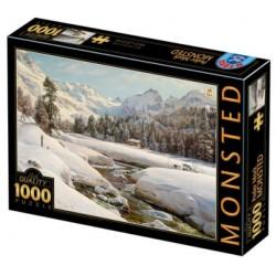 Puzzle 1000 pièces - Monsted Hiver
