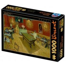 Puzzle 1000 pièces - Van Gogh Café Noir