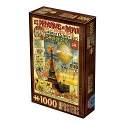Puzzle 1000 pièces - Vintage Poster Grande Fête