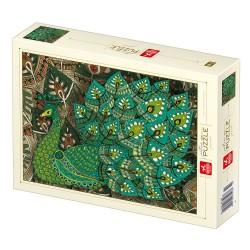 Puzzle 1000 pièces - Paon