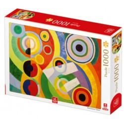 Puzzle 1000 pièces - Robert Delauney - Rythme