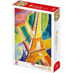 Puzzle 1000 pièces - Robert Delauney - Tour Eiffel