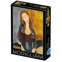 Puzzle 1000 pièces - Modigliani - Portrait Hebuterne