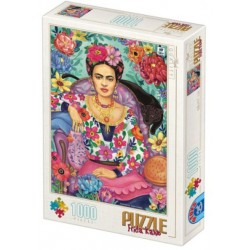Puzzle 1000 pièces - Groos Frida Kahlo