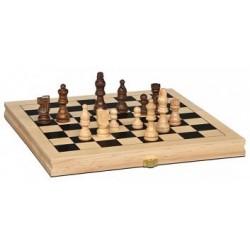Jeu d'échecs pliant 28cm